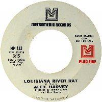 Cover Alex Harvey [US] - Louisiana River Rat